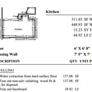 Xactimate Roof Estimate