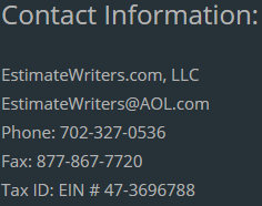 Estimmate Writers | Xactimate Experts